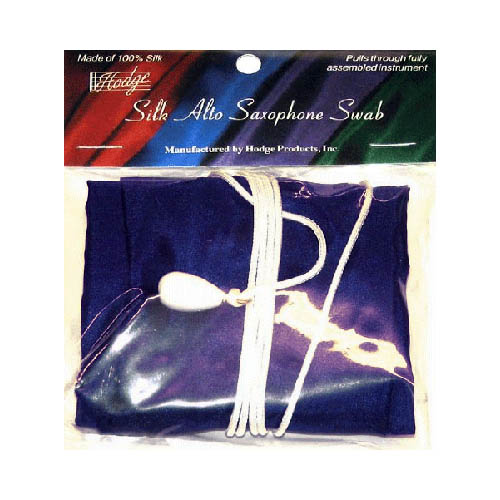 Hodge Silk Alto Saxophone Swab Purple by