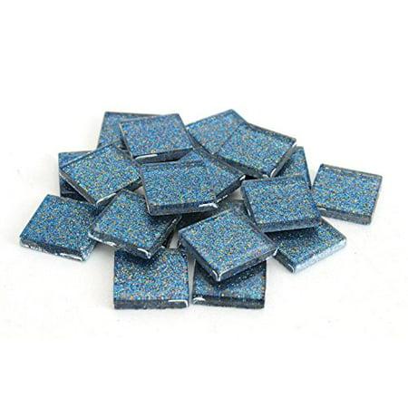 Mosaic Tiles For Crafts (Milltown Merchants 3/4 Inch (20mm) Glitter Mosaic)