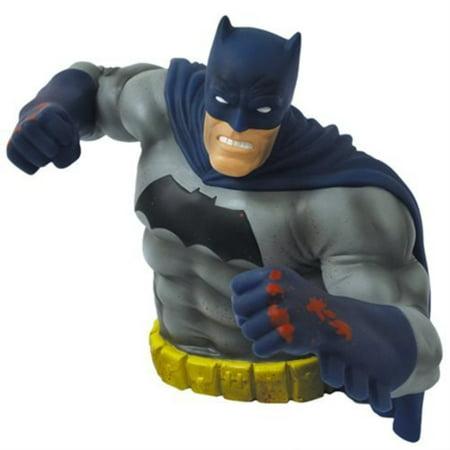 the dark knight returns batman bloody version bust bank - sdcc 2016