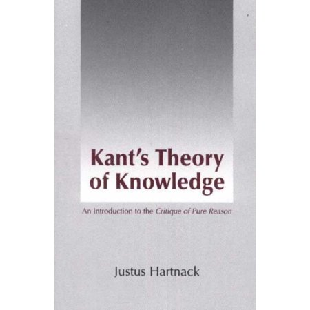 Kant's Theory of Knowledge : An Introduction to the Critique of Pure (Kant Critique Of Pure Reason Introduction Summary)