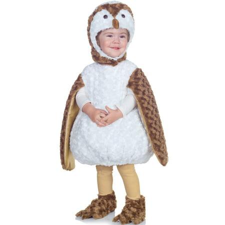 White Barn Owl Toddler Costume (Owl Custome)