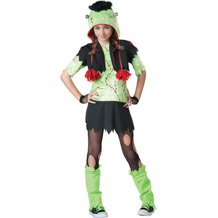 Monster Gurl Tween Costume - Cookie Monster Tween Costume