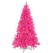 vickerman artificial christmas tree 4 x 31 hot pink tree dura lit 150 - Pink Christmas Trees