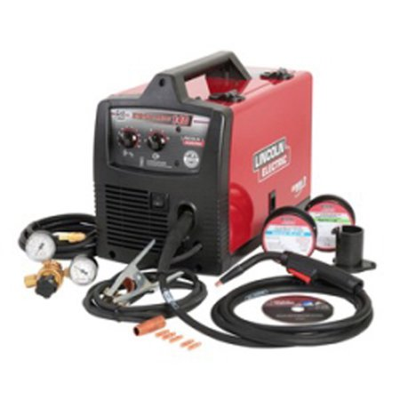 Lincoln Electric Welders K2697-1 Easy Mig 140 120 Volt AC Compact Wire (Clarke We6523 130en 120 Volt Fluxcore Mig Welder)