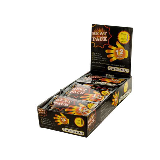 Bulk Buys GW041-25 Heat Pack Hand Warmer Countertop Display by Bulk Buys