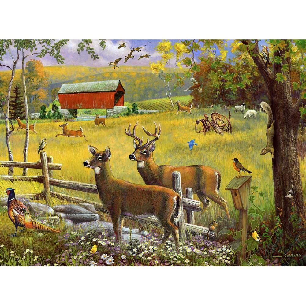 Karmin International Peaceful Morning Jigsaw Puzzle