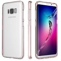 SaharaCase Galaxy S8 Clear Case OnlyCase Series – Rose Gold