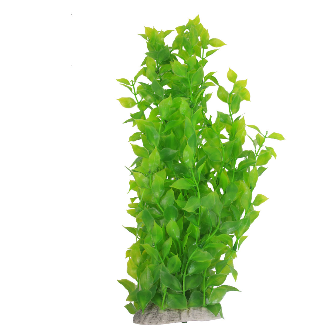 40cm Length Fish Tank Aquarium Ornament Plastic Green Leaves Plant by