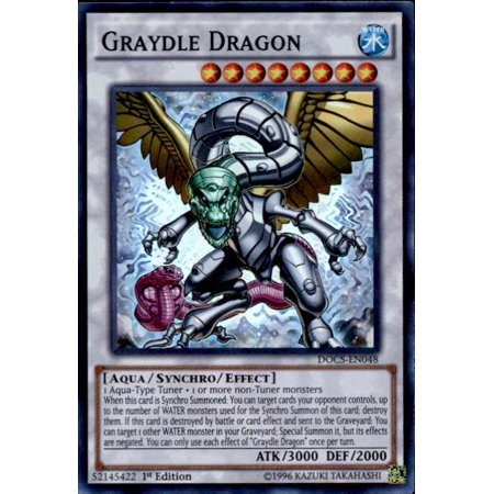Yu-Gi-Oh Dimension of Chaos Single Card Super Rare Graydle Dragon - Chaos Common Card