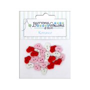 Buttons Galore Theme Romance Sweet Hearts