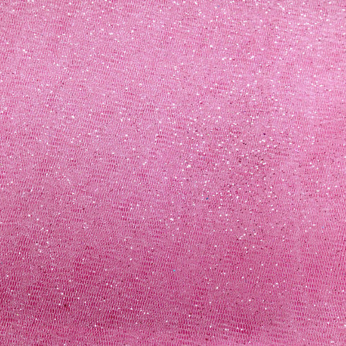 Party Time AP Polymesh Glitter Pink Fabric