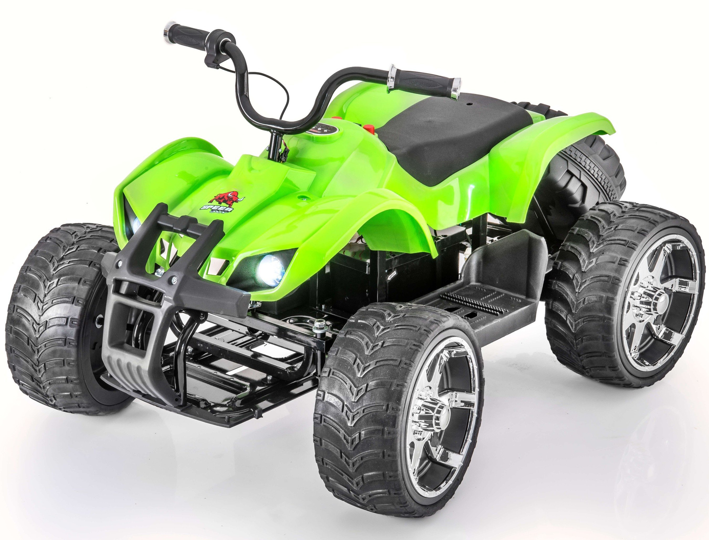 12V Rocket Sport Edition Quad   ATV Kids Dune Electric Ride On with Rubber Wheels by