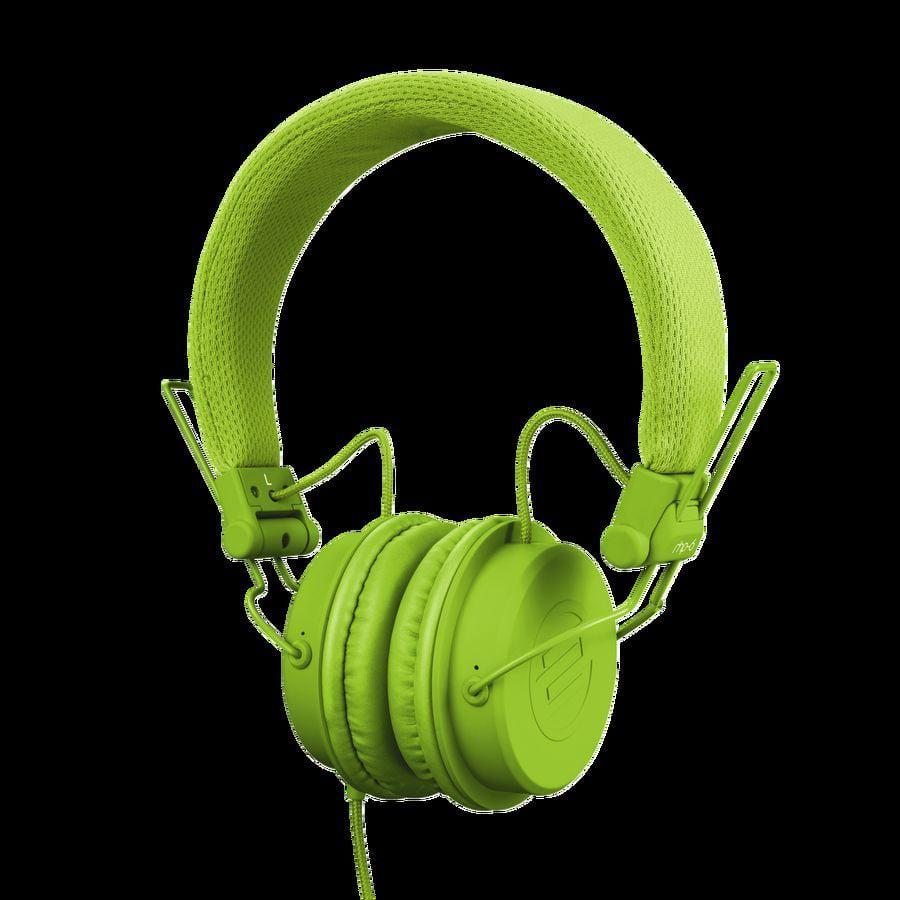 Reloop RHP-6 Ultra Compact DJ and Lifestyle Headphones Green