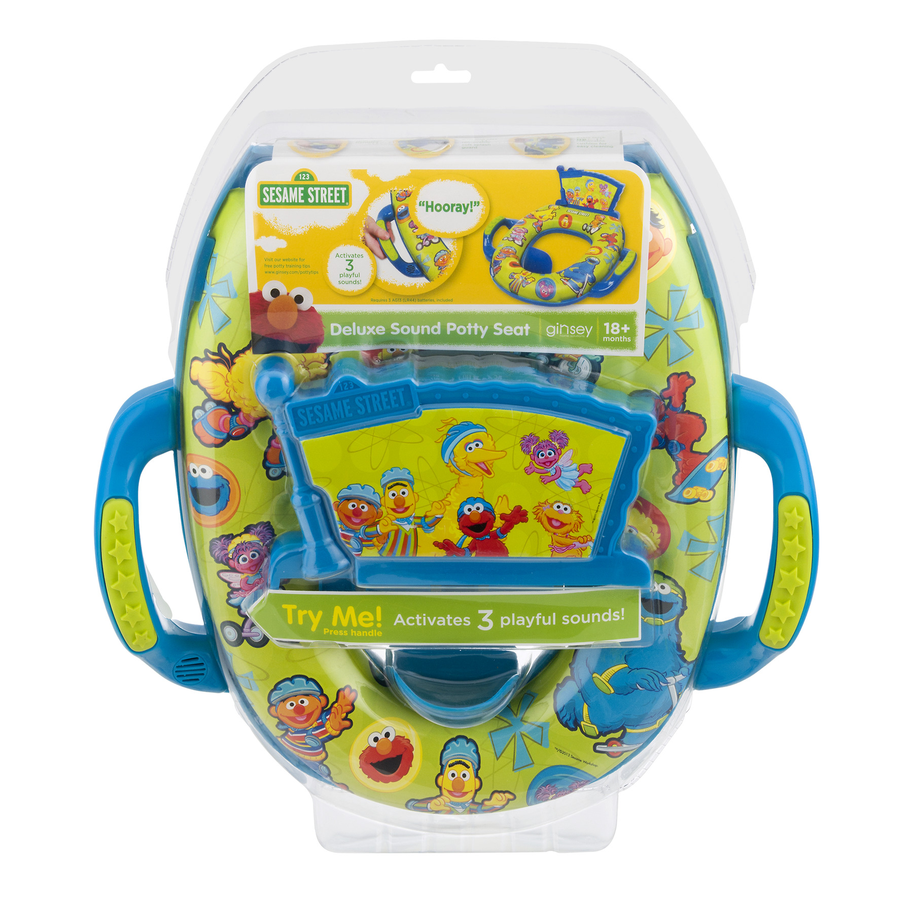 Sesame Street Deluxe Sound Potty Seat, 1.0 CT