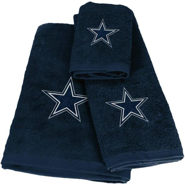 Nfl Dallas Cowboys 3 Piece Bath Towel
