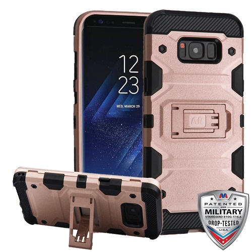 For Samsung Galaxy S8 Storm Tank Hybrid Impact Armor Protector Case Cover