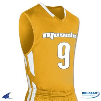 Champro Men's Muscle Dri Gear Basketball Jersey