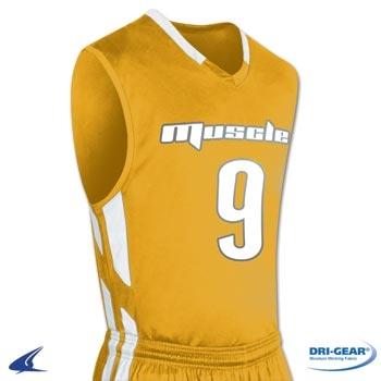 Champro Men's Muscle Dri Gear Basketball Jersey