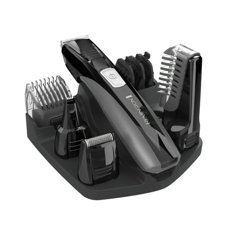 Remington Head-To-Toe Grooming Set ($5 Coupon Eligible) Men's Personal Electric Razor, Electric Shaver, Trimmer, Black, PG525D (Beard Trimmer Accessories)