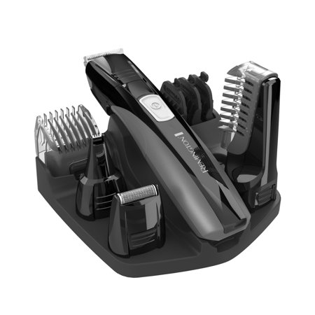 Remington Head-To-Toe Grooming Set, Men's Personal Electric Razor, Electric Shaver, Trimmer, Black,