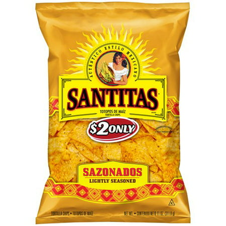 Santitas Lightly Seasoned Tortilla Chips, 11 Oz. - Walmart.com