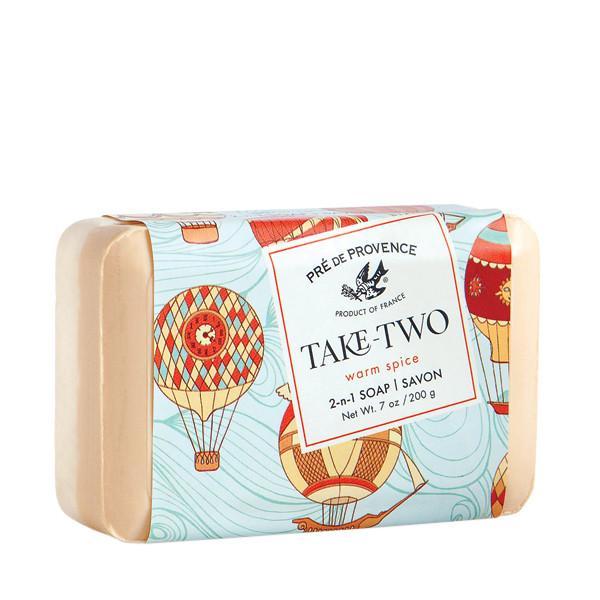 Pre de Provence Take Two 2-n-1 Warm Spice Soap 7oz