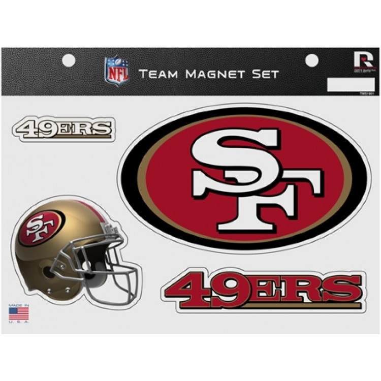 Rico Industries 49Ers All Over Chrome Frame
