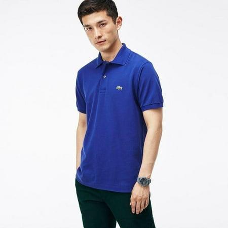 Lacoste Men's Short Sleeve Pique L1212 Classic Fit Polo Shirt