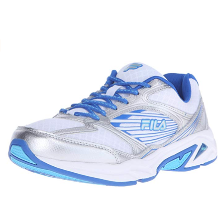 Fila Inspell 3 Womens White Blue Low Top Athletic Cross Training Running Shoes