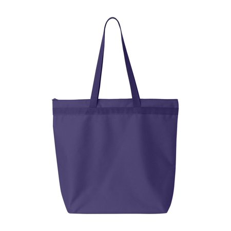 Liberty Bags Bags Recycled Zipper Tote ()