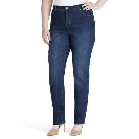Gloria Vanderbilt Women's Plus Size Classic Amanda Jean (Womens 22 Size Jeans)