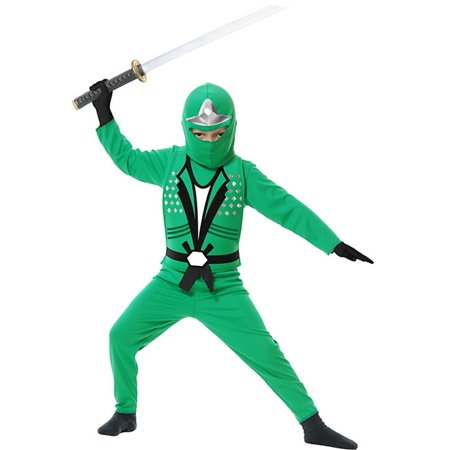 Child Green Ninja Avengers Series 2 - Ninja Avengers Costume