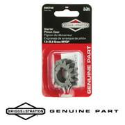 Briggs & Stratton 5086K Genuine Pinion Gear 695708 - For Aluminum and Plastic Ring Gears