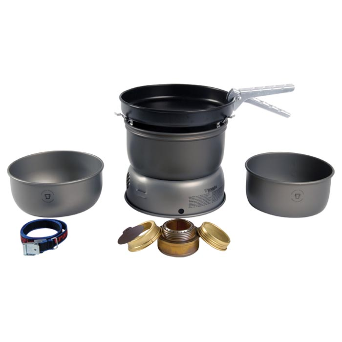 Trangia 25-3 Ul Hard Anodiz Stove Kit 150253 by TRANGIA