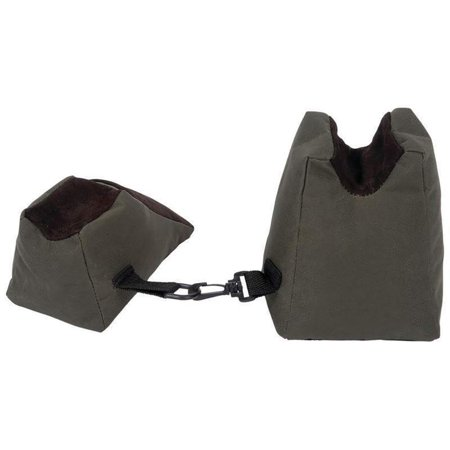 Shooting Bag Set Compact Small Front Rear Bags For Gun Rest Range Rifle Target