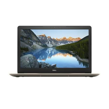 """Dell (5770) Inspiron 5770 Intel Core i3-7130U X2 2.7GHz 8GB 1TB 17.3"""" Win10, Gold"""