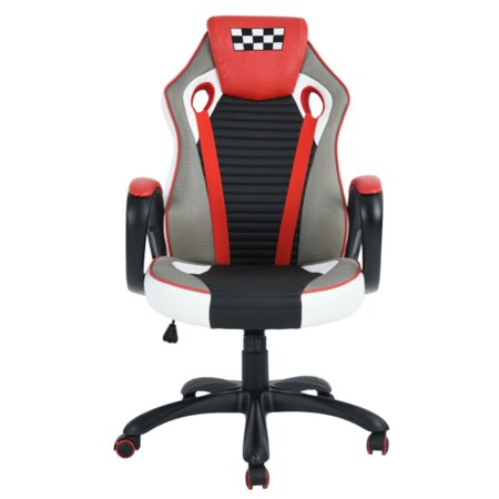 ZF Collections EMINENT Racing Gaming Highback Executive Office Chair (Blue) - image 7 of 12