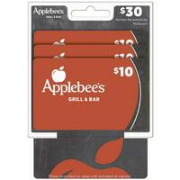 Applebees  Multipack $30 Gift Card