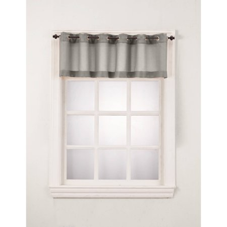 Montego Wine - No. 918 Montego Window Curtain Valance/Kitchen Curtains, Set of 2