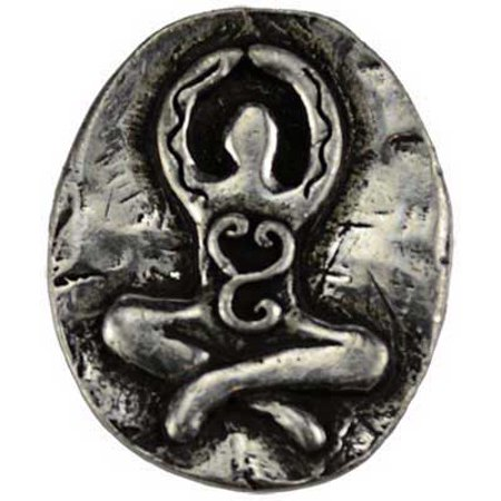 RBI Jewelry Goddess Pocket Stone Spiritual Amulet