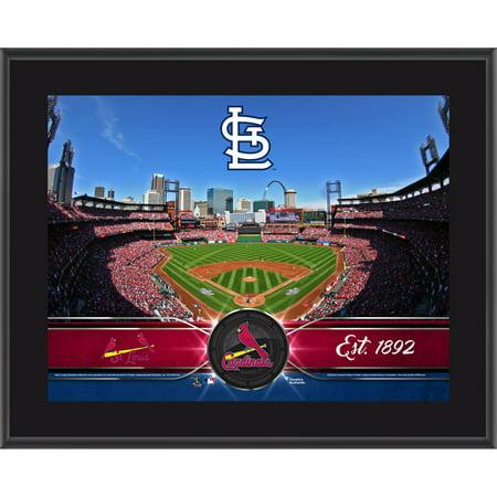 """St. Louis Cardinals Fanatics Authentic 10.5"""" x 13"""" Sublimated Team Plaque - No Size"""