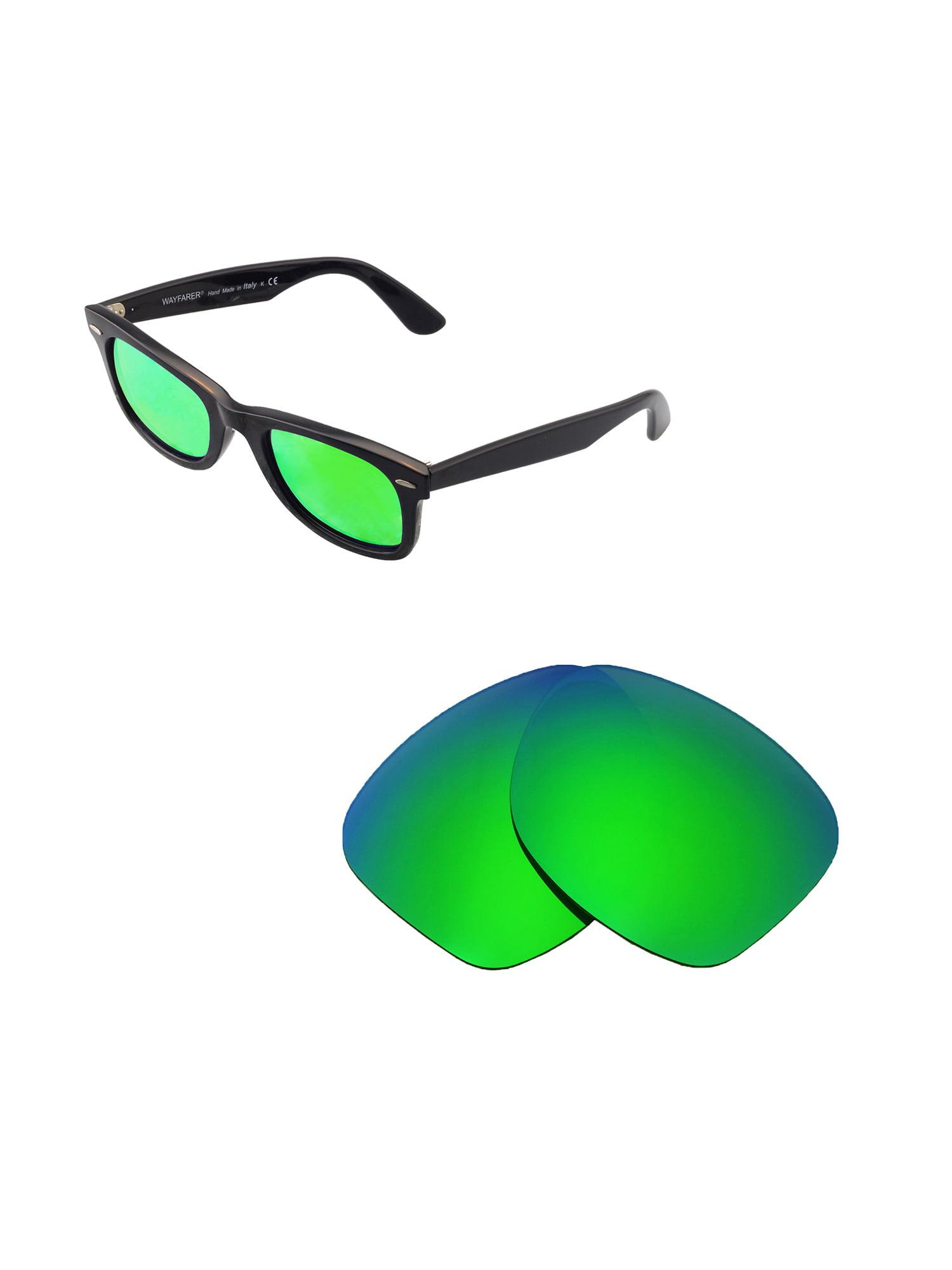 5a9e0efba65 Walleva - Walleva Brown Polarized Replacement Lenses for Ray-Ban Wayfarer  RB2140 50mm Sunglasses - Walmart.com