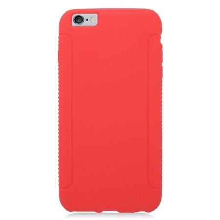 Insten Soft Rubber Case For Apple iPhone 6s Plus / 6 Plus - Red - image 3 de 3