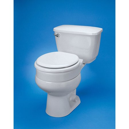 Ableware 725711005 Hinged Elevated Toilet Seat Elongated by Maddak