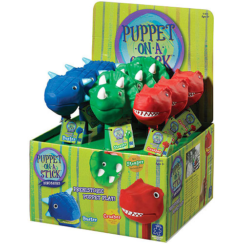 Educational Insights Dino Puppet-On-A-Stick Party Pack