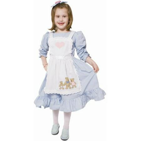 Dress Up America Goldilocks Fairytale Children's Costume