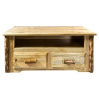 Glacier Country Collection Coffee Table w/ 2 Drawers
