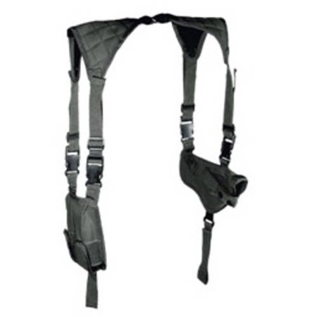 Leapers, Inc. UTG Deluxe Shoulder Holster, Ambidextrous, Universal, Black