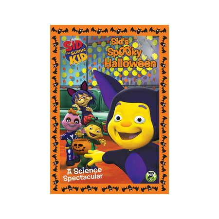 Sid the Science Kid: Sid's Spooky Halloween (DVD) - The Rugrats Halloween Vhs
