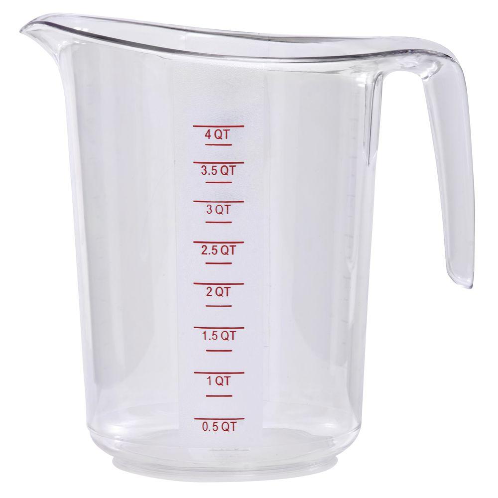 HUBERT Measuring Cup 4 Quart Break Resistant